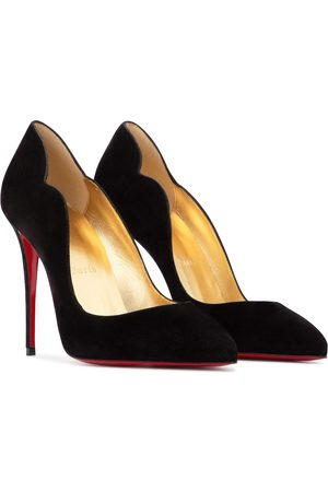 Christian Louboutin Esclusiva Mytheresa - Pumps Hot Chick 100 in suede