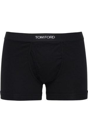 TOM FORD Set Di 2 Boxer In Cotone