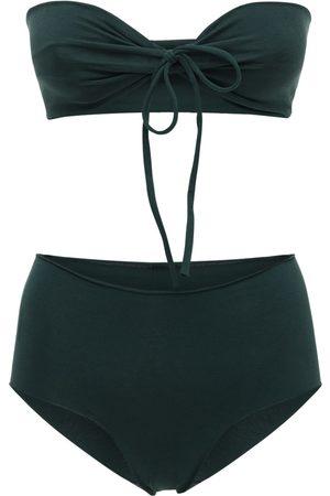 ISOLE & VULCANI Bikini In Jersey Di Cotone