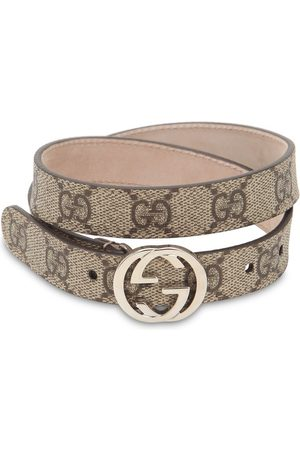 """Gucci Cintura """"supreme"""" Con Stampa Logo"""