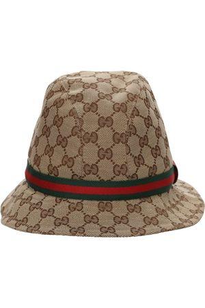 Gucci Cappello Bucket In Misto Cotone Gg Supreme