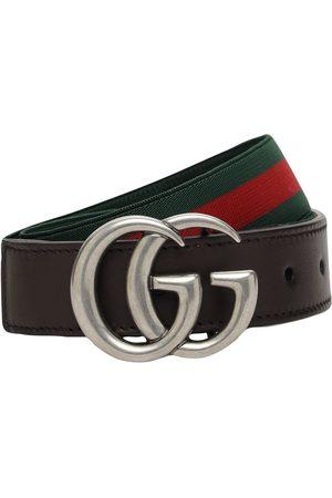 Gucci Cintura Elasticizzata Con Dettaglio Web