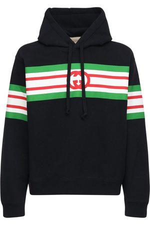 Gucci Felpa In Cotone Con Cappuccio