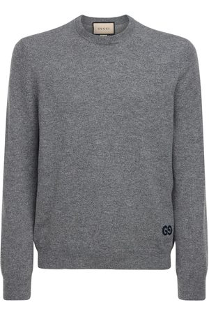 Gucci Cardigan In Cashmere Gg