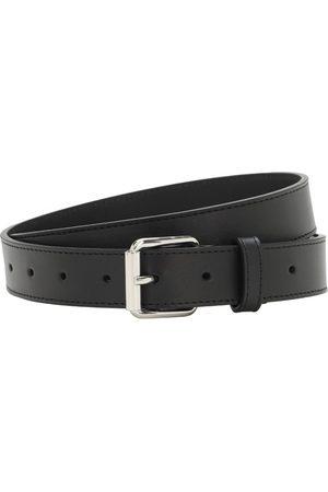 Comme des Garçons Uomo Cinture - Cintura In Pelle 30mm