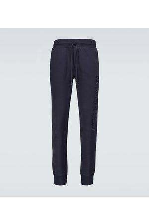 Moncler Pantaloni sportivi in cotone