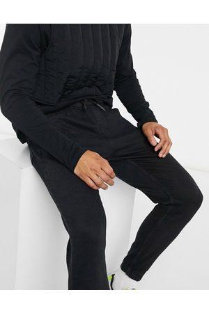 Bershka Joggers di jeans neri