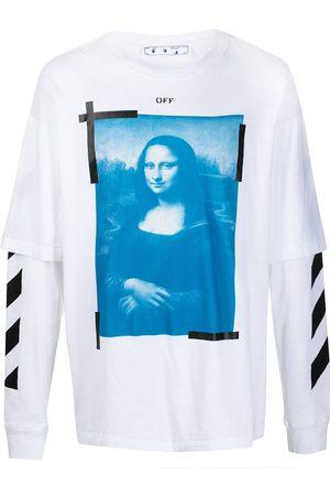 OFF-WHITE T-shirt a maniche lunghe Mona Lisa