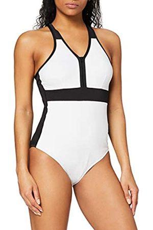 AURIQUE Donna Costumi interi - Marchio Amazon - Monokini Sportivo Donna, , XL, Label:XL