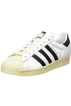 adidas Superstar, Scarpe da Ginnastica Uomo, Ftwr White/Core Black/Blue, 41 1/3 EU