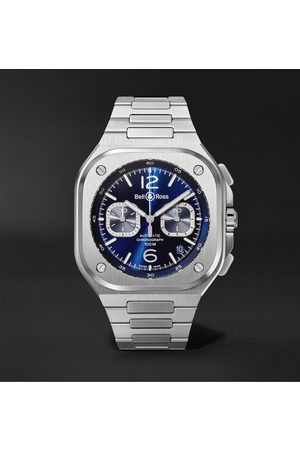 Bell & Ross BR 05 Automatic Chronograph 42mm Stainless Steel Watch, Ref. No. BR05C-BU-ST/SST