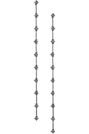 ALINKA NATALIA' diamond drop earrings - Effetto metallizzato