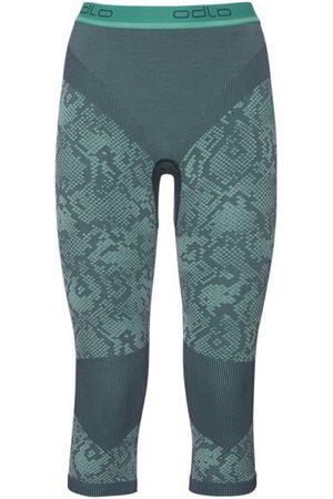 Odlo Blackcomb Evolution Warm Pants 3/4 - pantaloni intimi 3/4 - donna