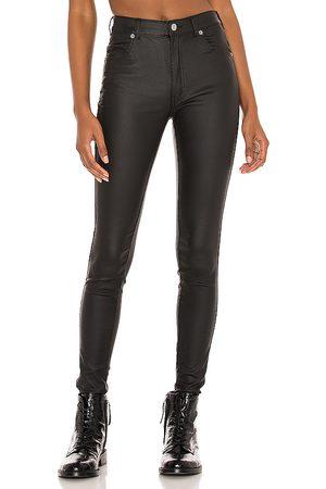 Dr Denim Lexy Skinny in - Black. Size L (also in XS, S, M, XL).