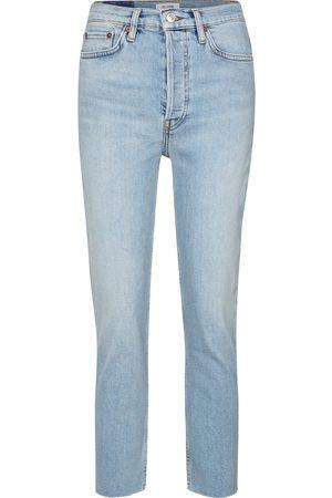 RE/DONE Jeans slim 90s a vita alta