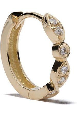 Feidt Paris Orecchino a cerchio in 18kt Charnière e diamanti