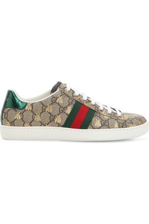 """Gucci Sneakers """"new Ace Gg Supreme"""" In Tela 20mm"""