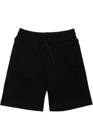 Dolce & Gabbana Shorts In Felpa Di Cotone