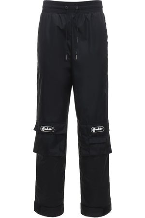 OFF-WHITE Pantaloni Cargo In Nylon Con Logo