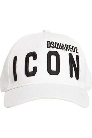 Dsquared2 Cappello Baseball In Gabardina Di Cotone