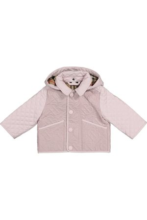 Burberry Baby - Giacca trapuntata a stampa