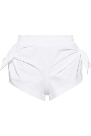Miu Miu Shorts con logo