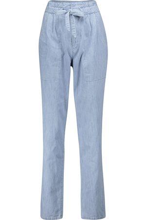 Isabel Marant Jeans slim Muardo a vita alta
