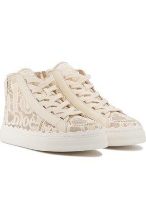 Chloé Sneakers Lauren in pizzo