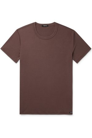 Tom Ford Uomo Magliette intime - Slim-Fit Stretch Cotton-Jersey T-Shirt