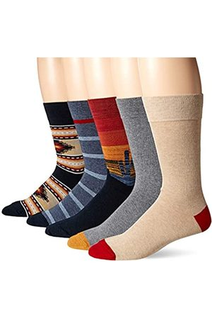 Goodthreads 5-Pack Patterned Socks Casual, Southwest, One Size
