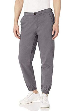 Amazon Pantaloni sportivi da uomo, vestibilità regolare, scuro, US XXL