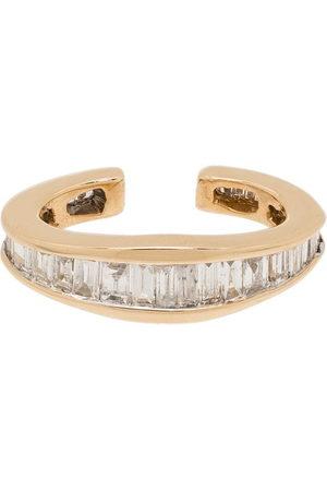 Adina Reyter Ear cuff Heirloom in 14kt con diamanti