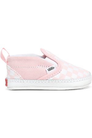 Vans Scarpe Bebè Checkerboard Slip-on V Crib (0-1 Anni) ((checkerboard) Blushing Bride/true White) Infant