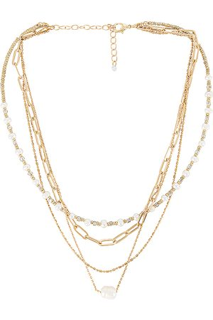 8 Other Reasons Zoe Necklace in - Metallic . Size all.