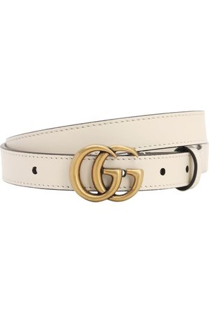 """Gucci Cintura """"gg Marmont"""" In Pelle 20mm"""