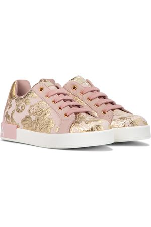 Dolce & Gabbana Sneakers in broccato