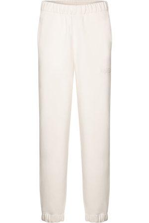 Ganni Pantaloni sportivi Softwear in misto cotone