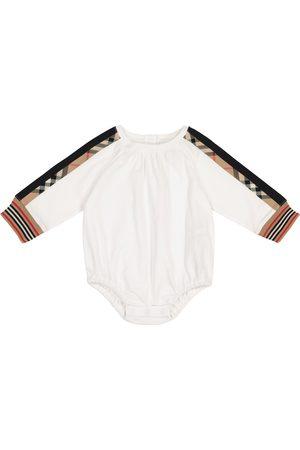Burberry Baby - Tutina a quadri in cotone
