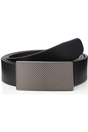 FIND Marchio Amazon - Cintura con Fibbia a Clip Uomo, , M, Label: M
