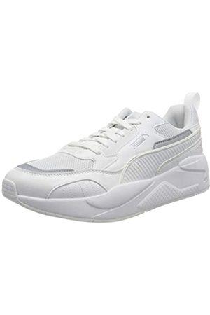 PUMA X-Ray 2 Square, Sneaker Unisex-Adulto, Bianco White White/Gray Violet, 43 EU