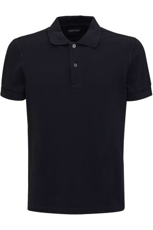 Tom Ford Polo In Cotone Tinto
