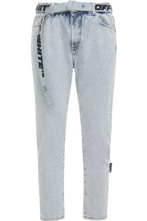 OFF-WHITE Jeans Slim Fit Cavallo Basso In Denim