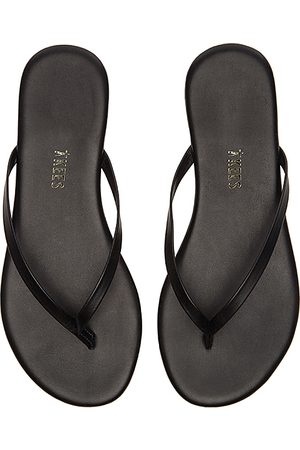Tkees Liners Flip Flop in - Black. Size 10 (also in 6, 7, 8, 9).
