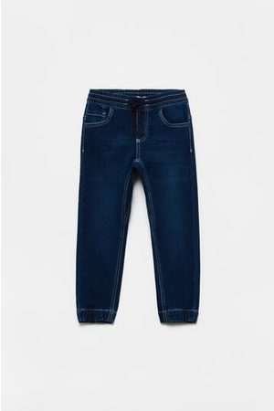 OVS Joggers in denim con coulisse