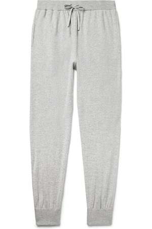 Mr P. Uomo Joggers - Slim-Fit Wool and Cashmere-Blend Sweatpants