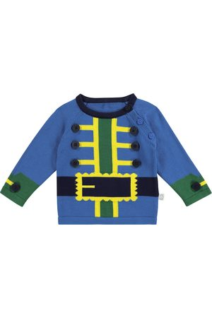 Stella McCartney Baby - Pullover a intarsio in cotone