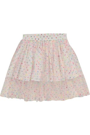 Stella McCartney Gonna a pois in tulle stretch