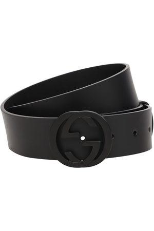 Gucci Cintura In Pelle 37mm