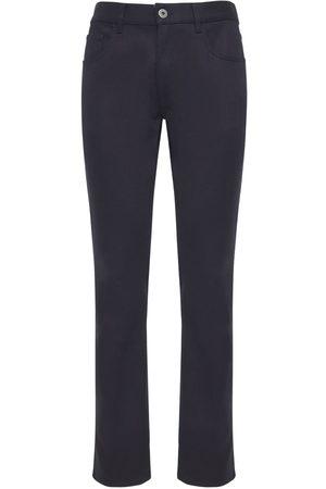 Prada Jeans In Denim Di Cotone Stretch 19cm