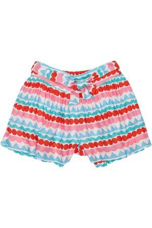 Stella McCartney Bambina Pantaloncini - Shorts In Twill Di Viscosa